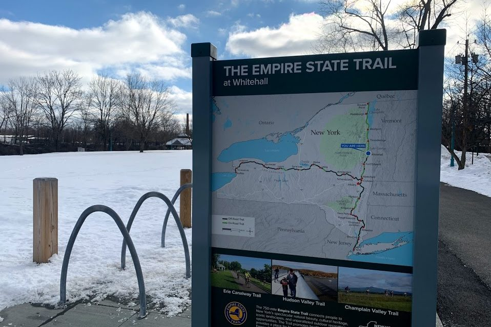 Empire State Trail runs through Whitehall