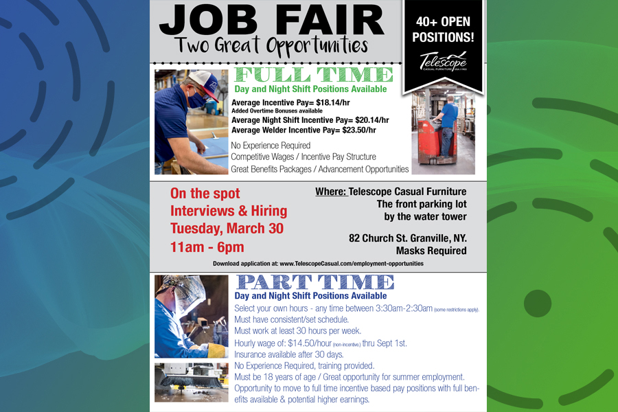 Telescope holds job fair