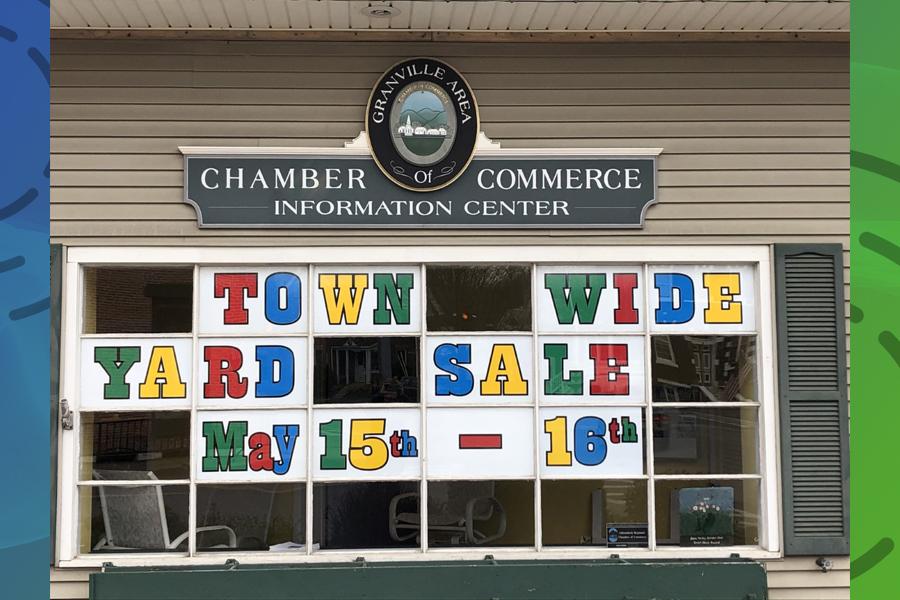 Granville yard sale returns May 15-16
