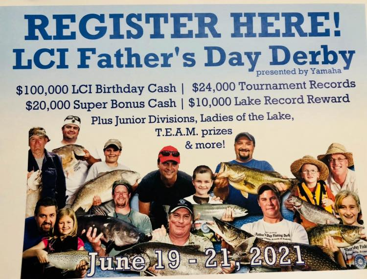 Fishing derby at South Bay June 19-21