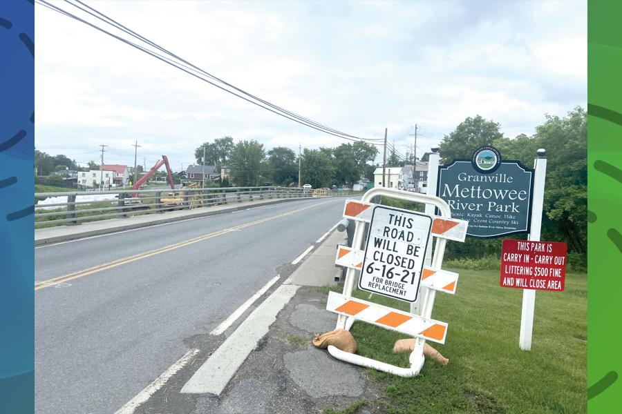 Verizon wire removal delays bridge work