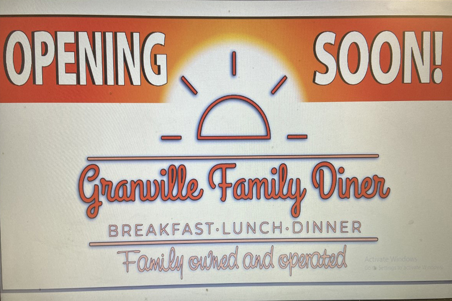Family diner to open in Granville