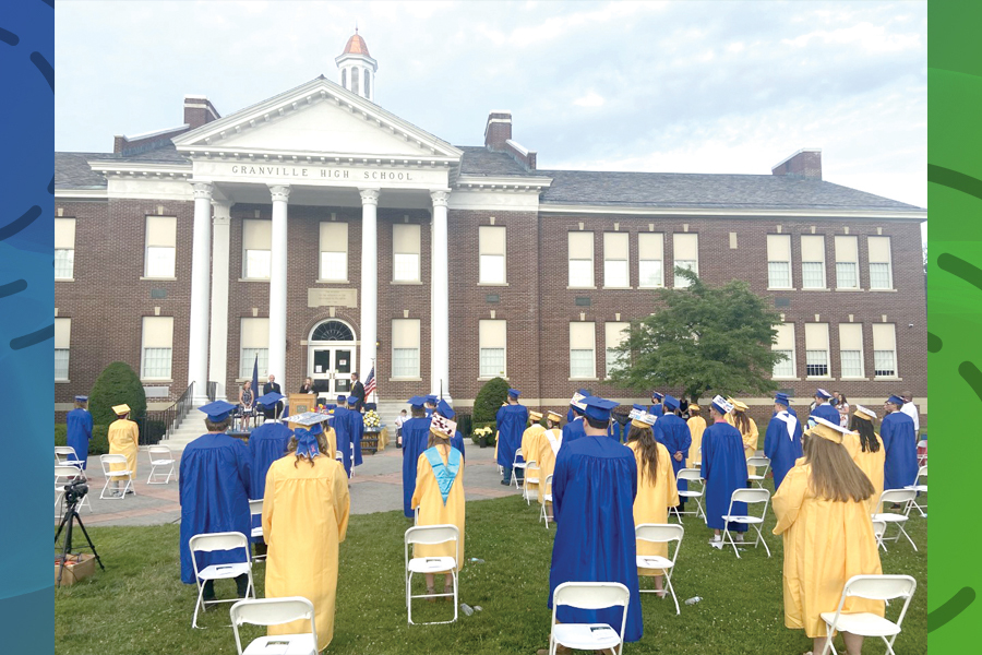 Look 'beyond our bow,' 85 Granville grads told