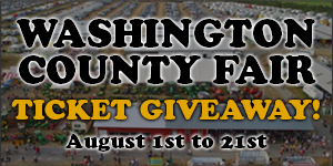 Washington County Fair Ticket Giveaway from August 1 to August 21