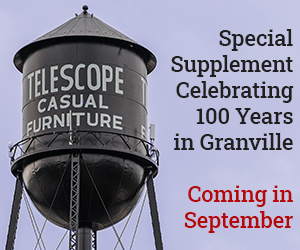 Telescope Casual Furniture Special Supplement Celebrating 100 Years in Granville Coming in September