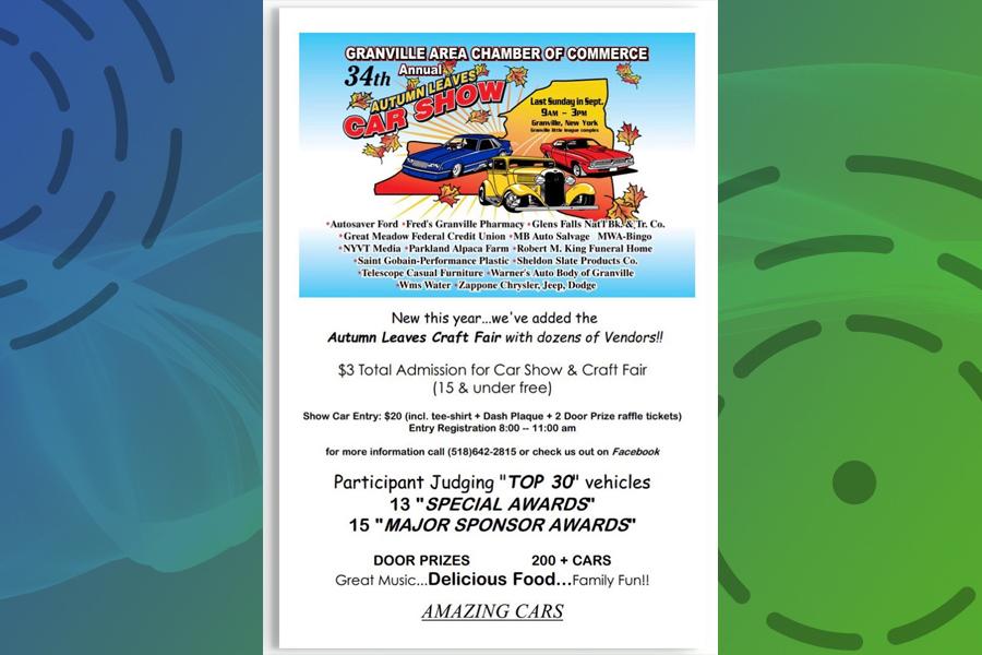 Car show to add craft fair this year