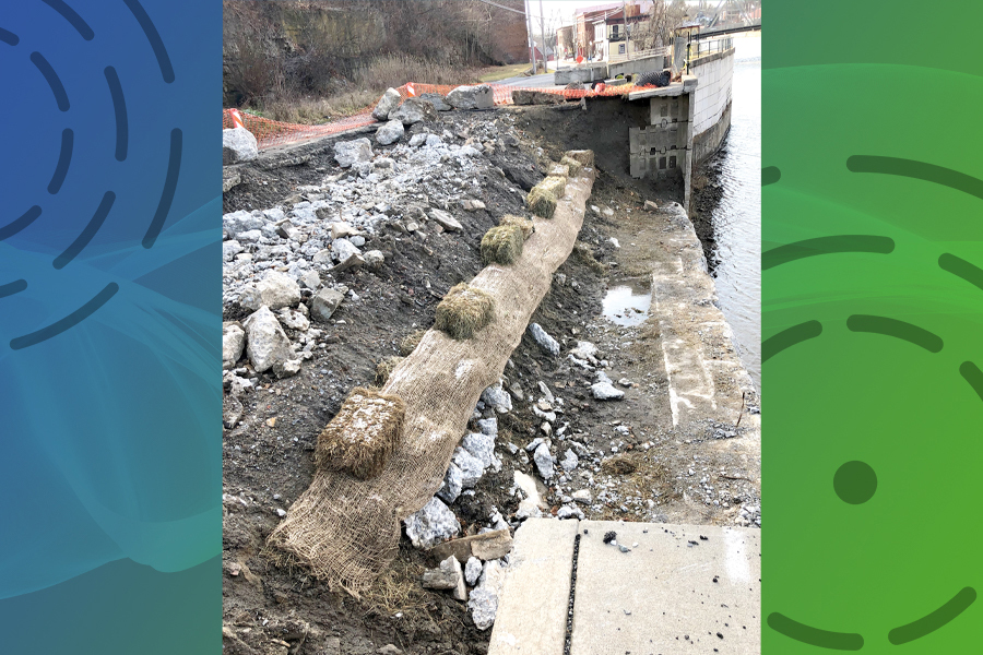 Goal: Fix canal wall 'before winter'
