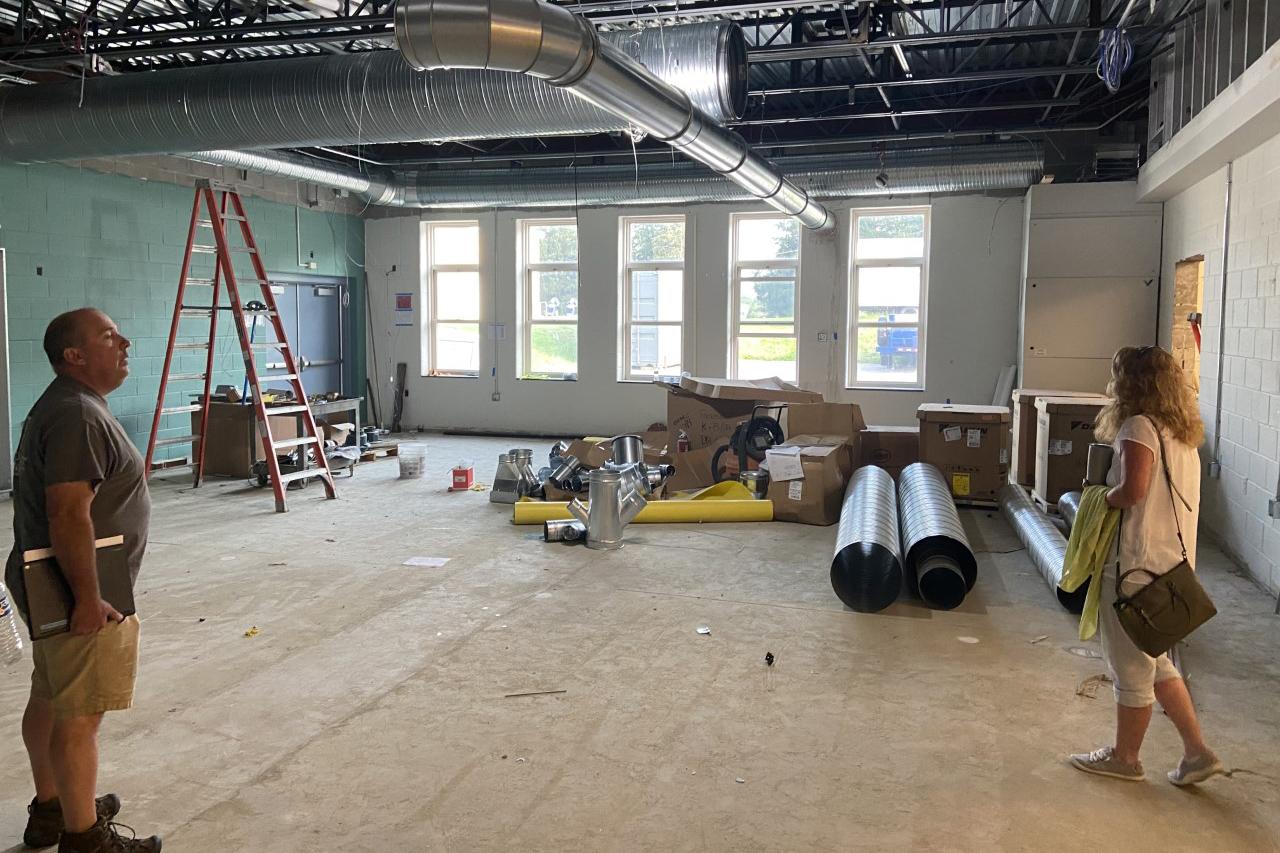 School renovation 'in pretty good shape'