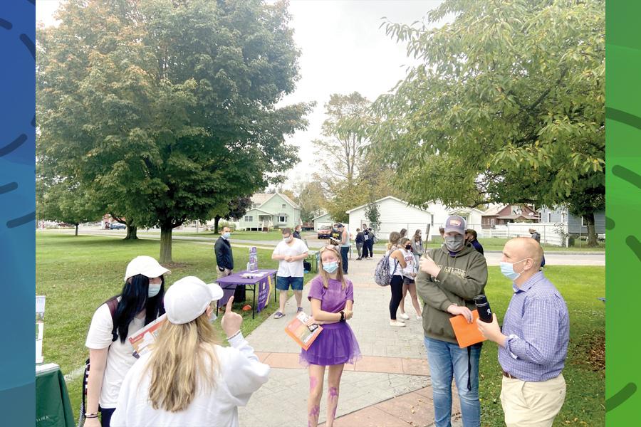 'College caravan' visits Granville