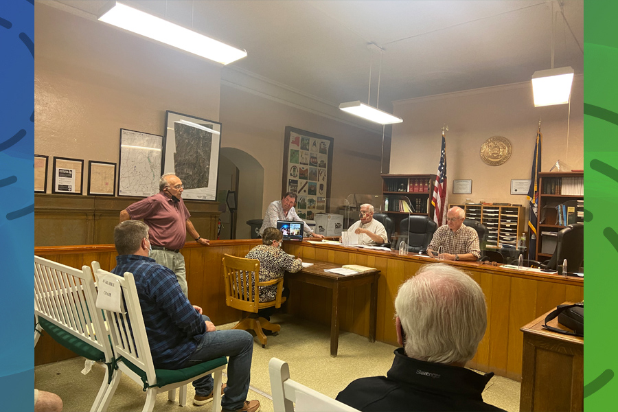 Town residents speak for, against cannabis